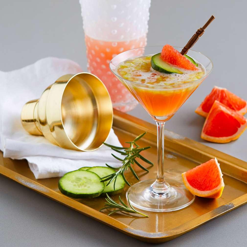 Abbildung des Rezepts Grapefruit-Cucumber-Punch
