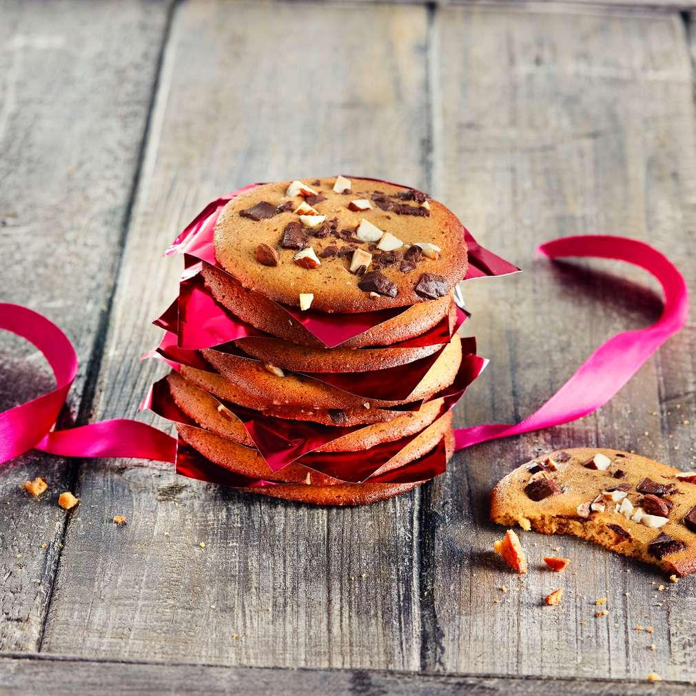 Zobrazenie receptu Mandľové sušienky s čokoládou
