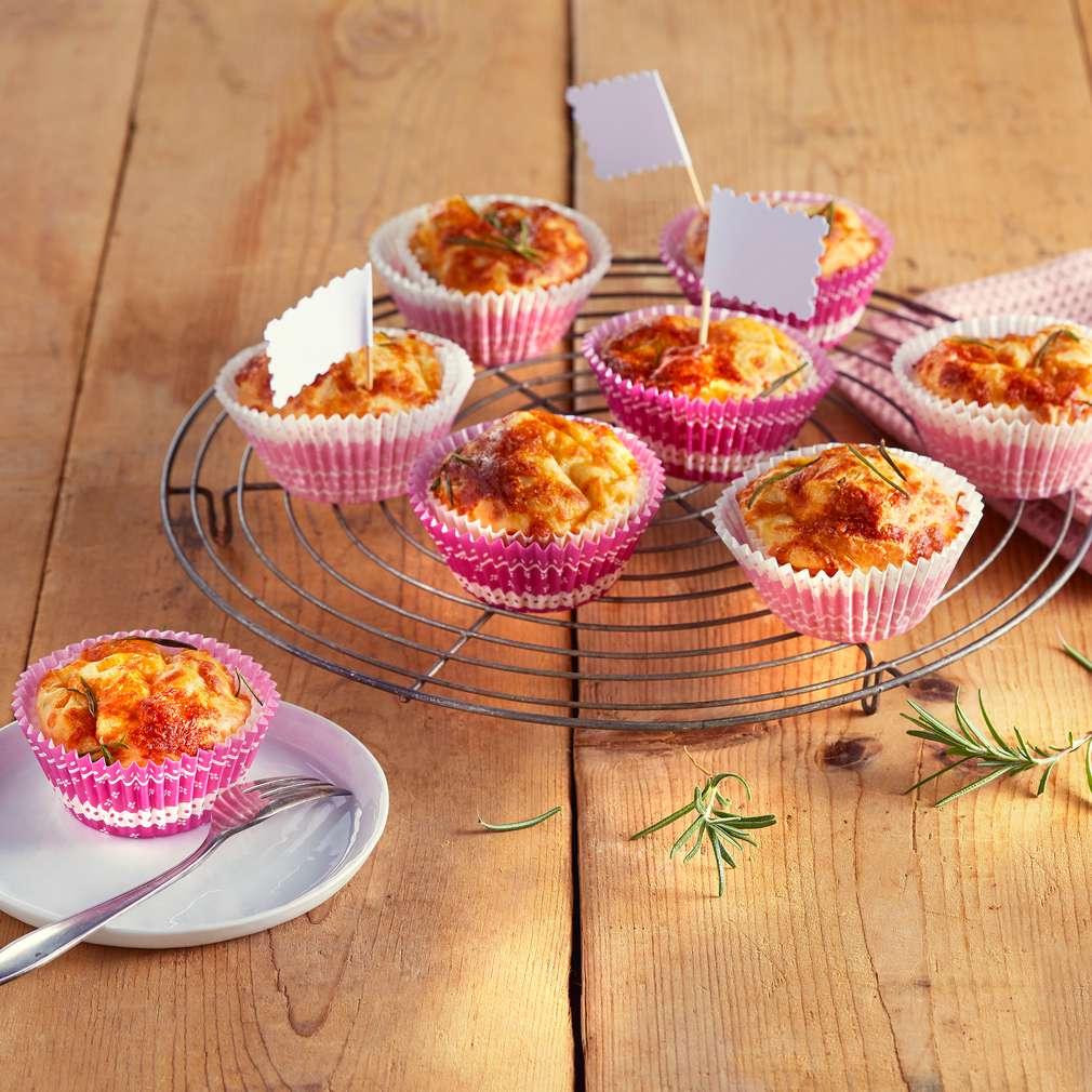 Abbildung des Rezepts Tomaten-Mozzarella-Muffins