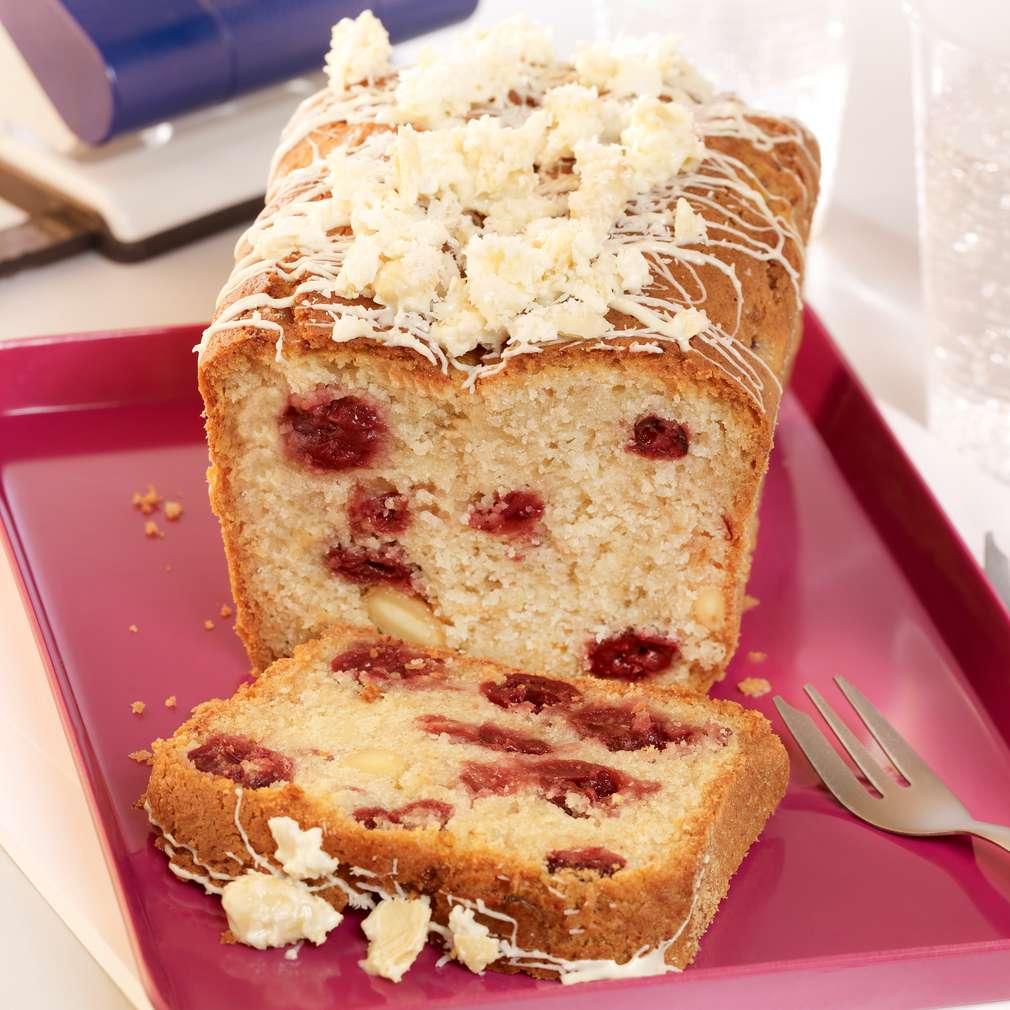 Abbildung des Rezepts Raffaelo-Kirsch-Kuchen