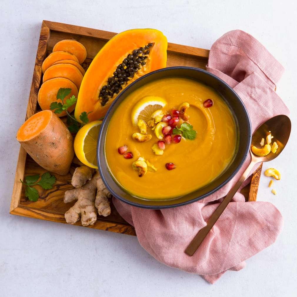 Abbildung des Rezepts Süßkartoffel-Papaya-Thai-Crème