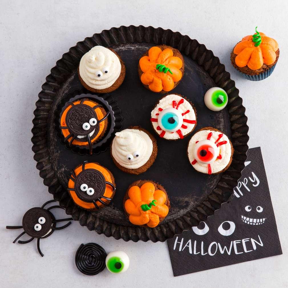 Abbildung des Rezepts Halloween Cupcakes