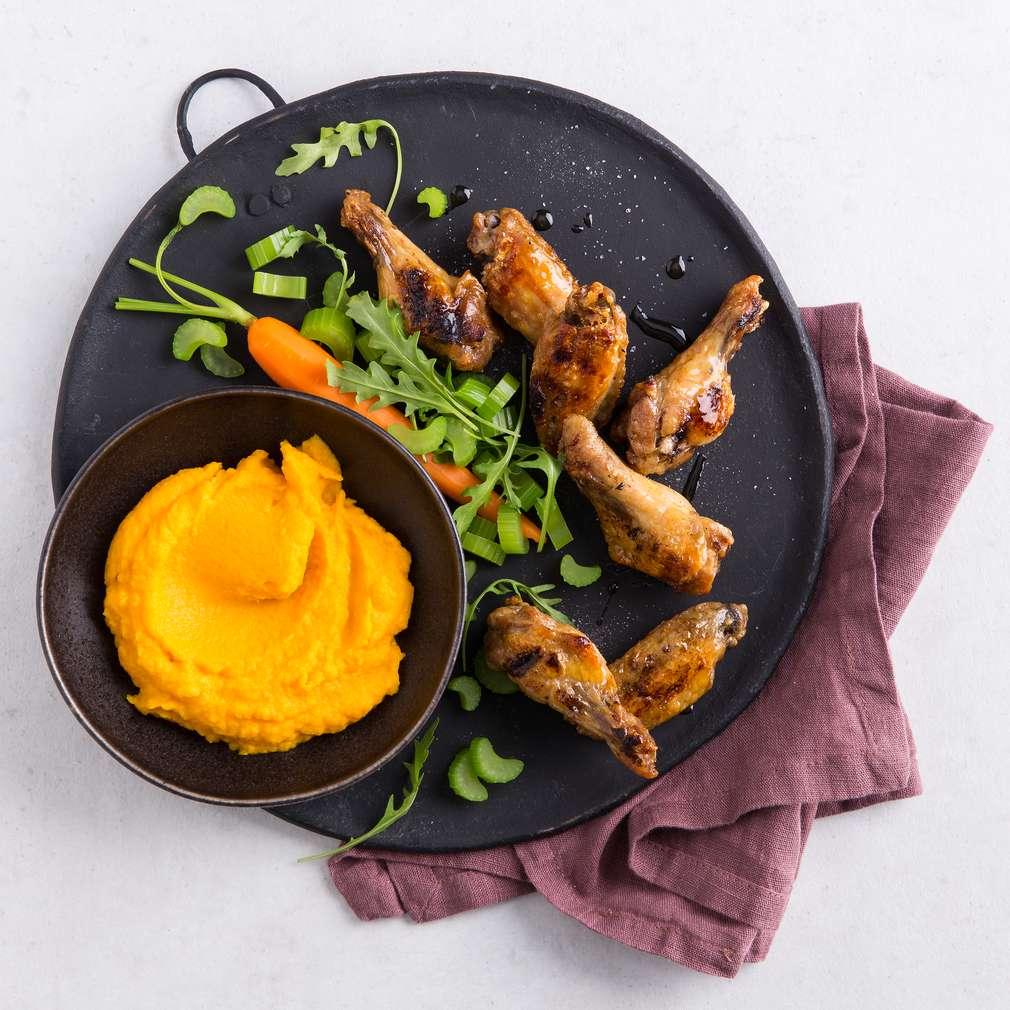 Abbildung des Rezepts Chicken Wings à la Hudson & Charles