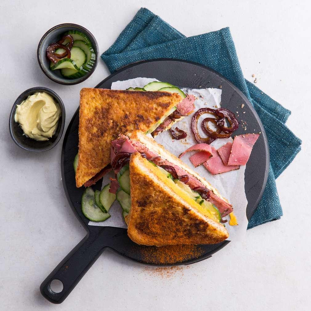 Abbildung des Rezepts Pastrami Sandwich