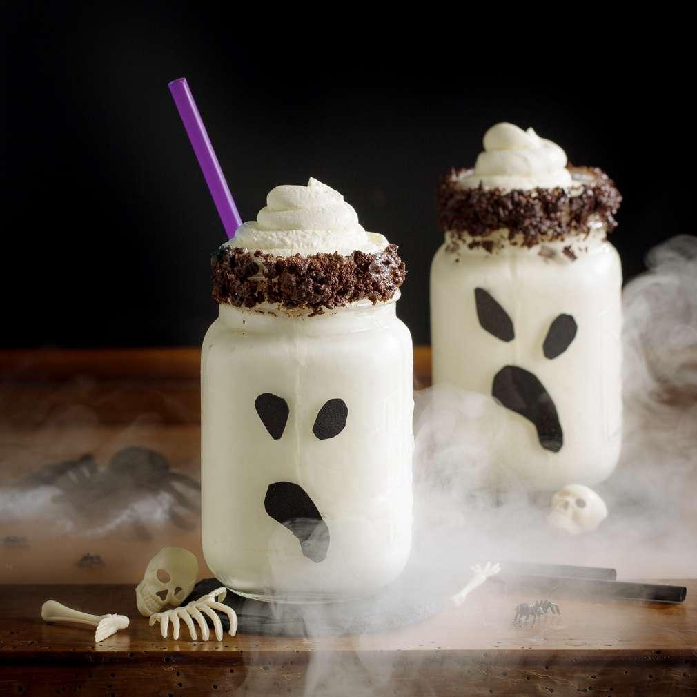 """Imaginea rețetei Milkshake de ciocolată """"Buhuhu!"""""""