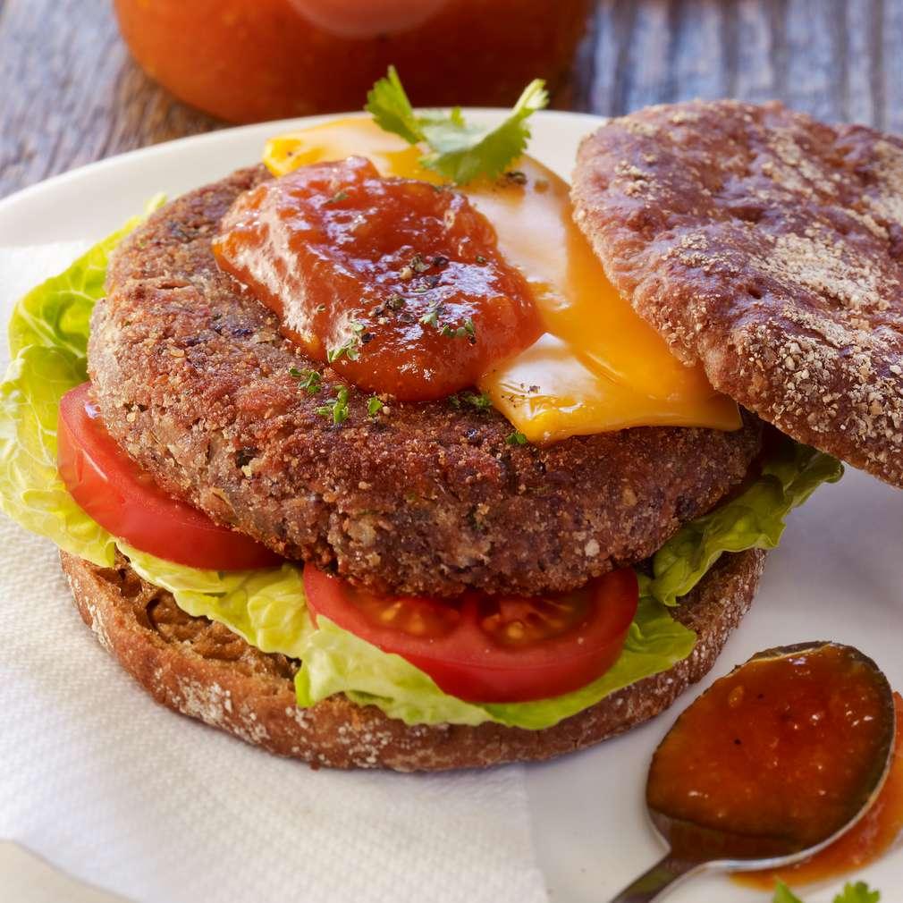 Abbildung des Rezepts Veggie-Burger