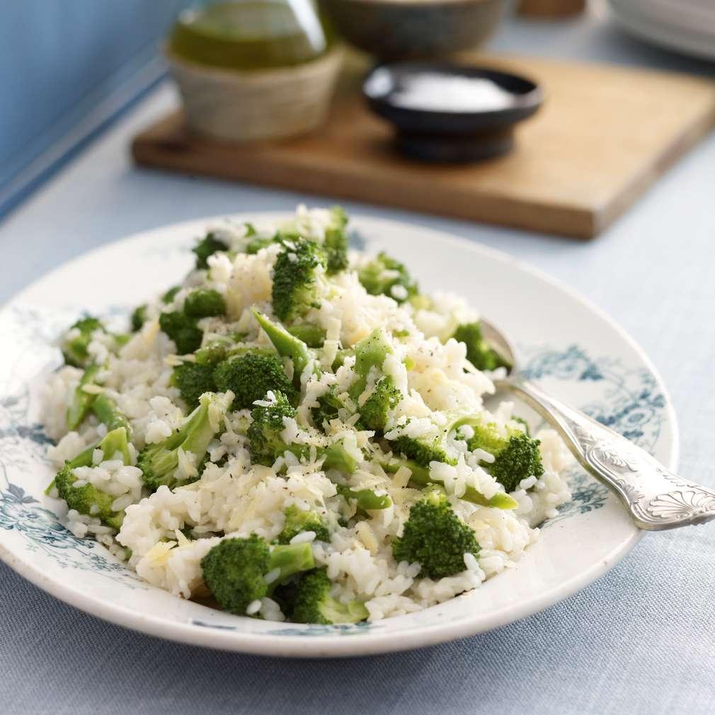 Imaginea rețetei Rizoto cu sparanghel și broccoli