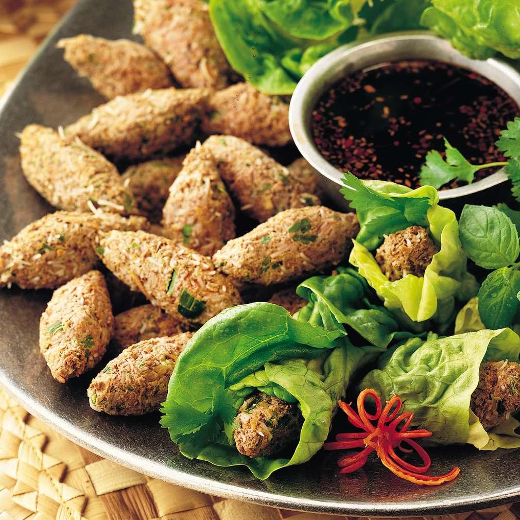 Imaginea rețetei Pachețele cu carne de porumbel