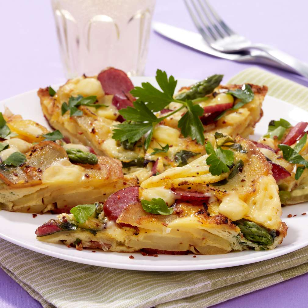 Abbildung des Rezepts Frittata mit Kartoffeln