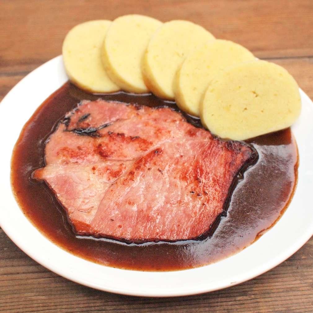 Zobrazit Moravská krkovice s povidlovou omáčkou receptů