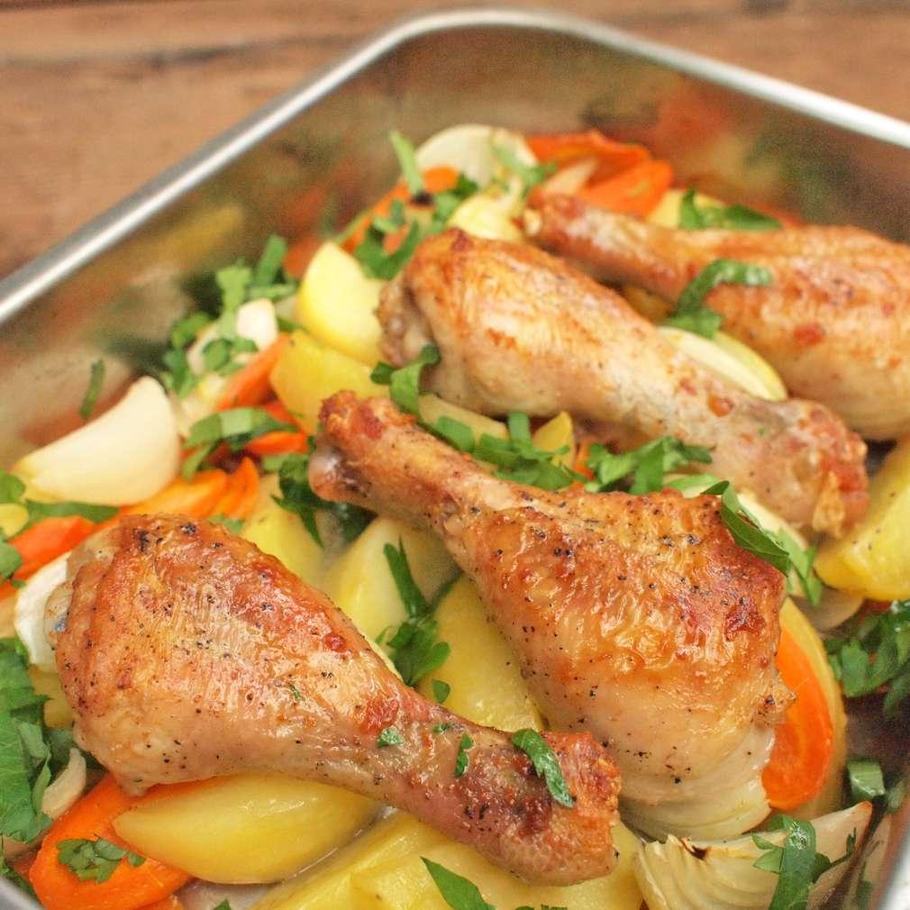 Zobrazit Rychle upečené kuřecí špalíčky receptů
