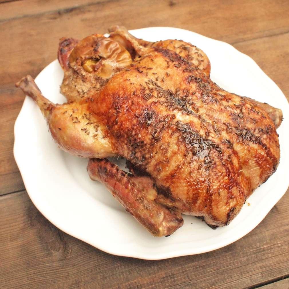 Zobrazit Pečená kachna na kmíně receptů
