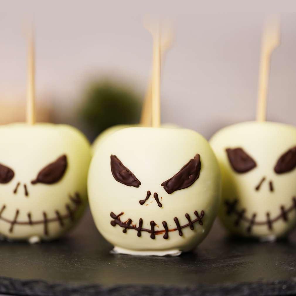Изобразяване на рецептата Страховити ябълки
