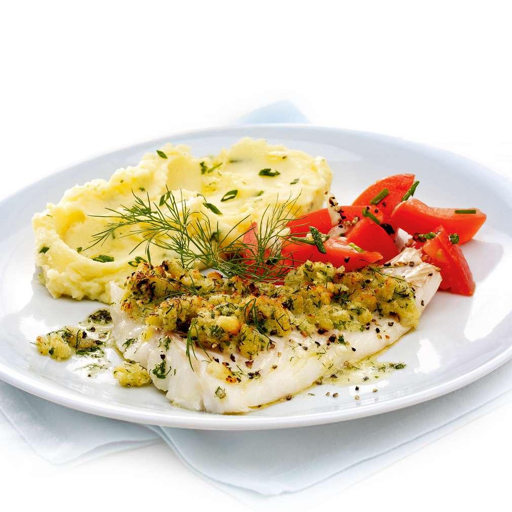 Zobrazit Filé z tresky s bylinkovou krustou receptů