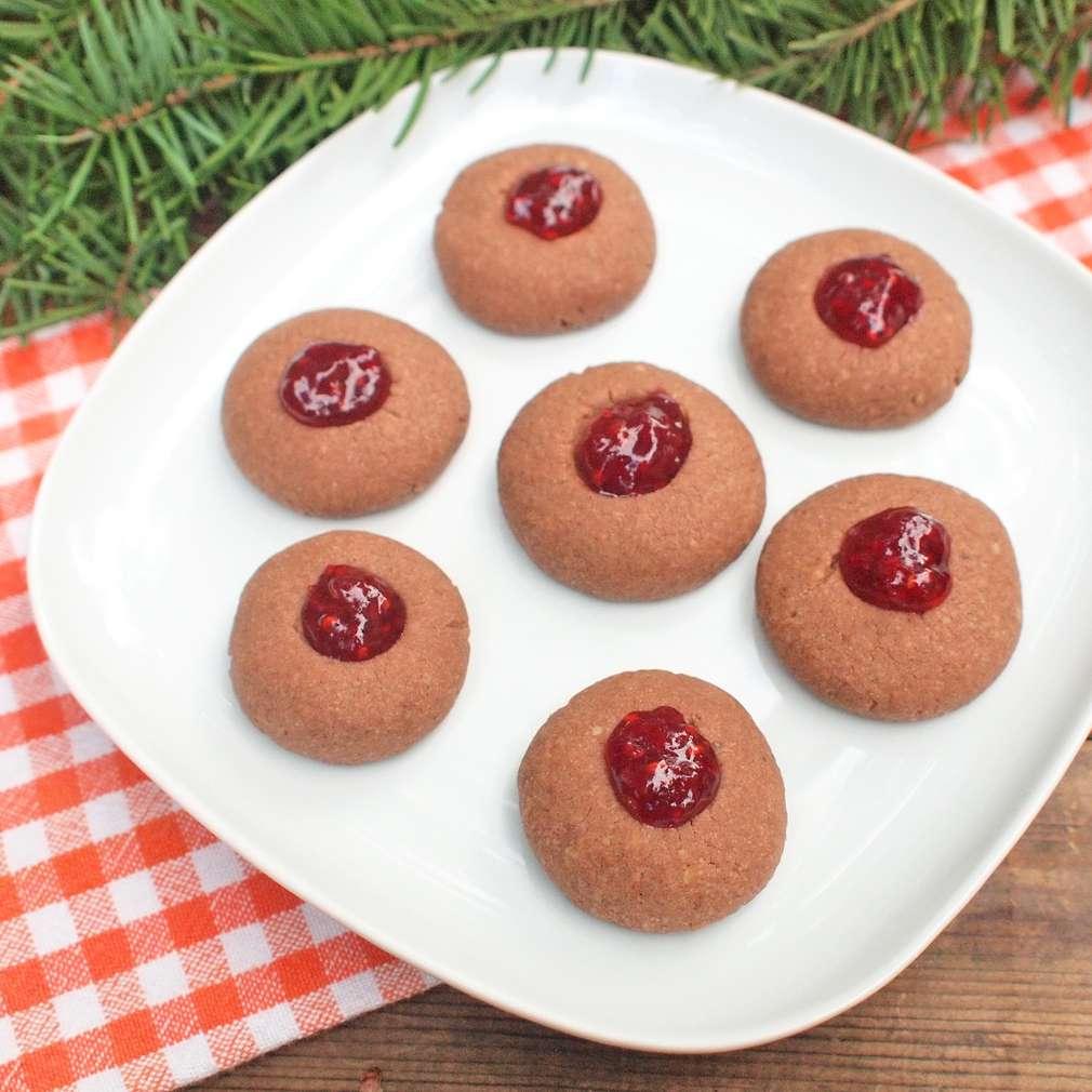 Zobrazit Kakaové sádláky s marmeládou receptů