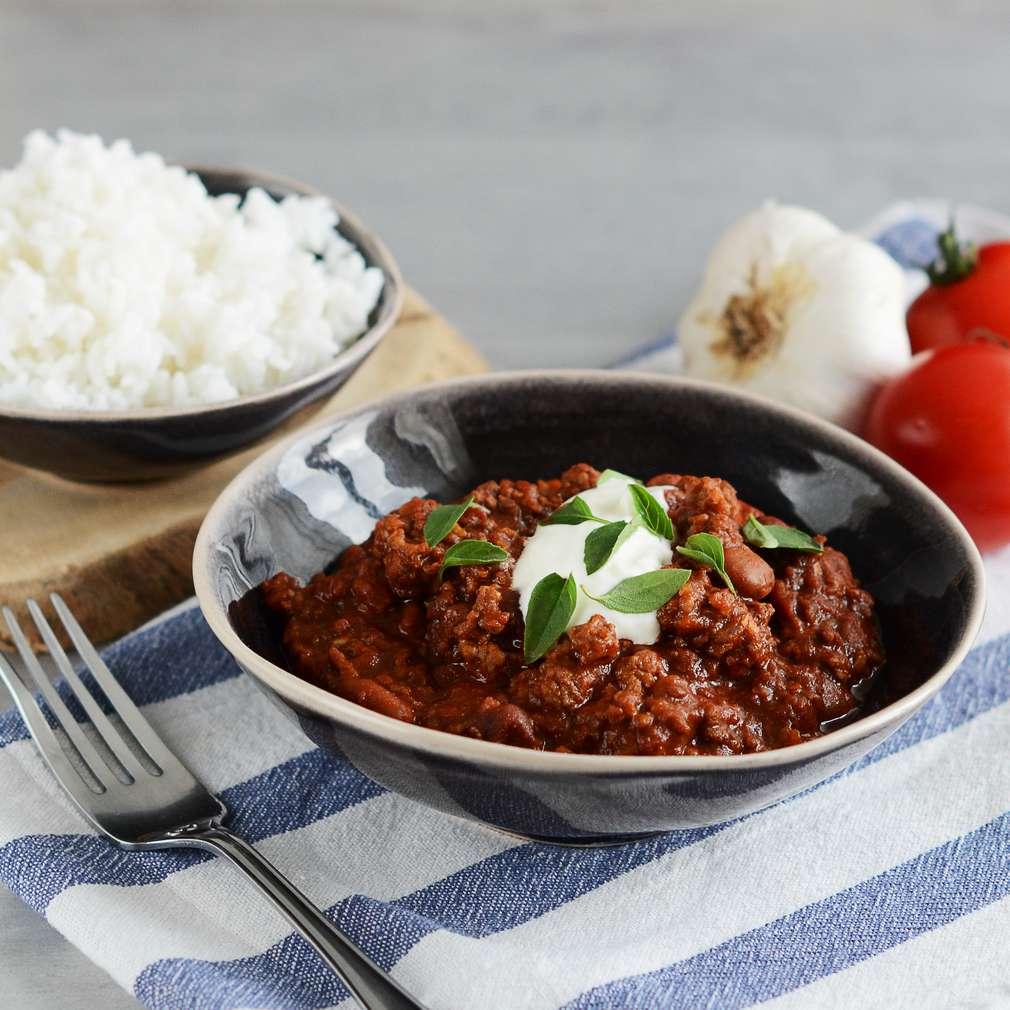 Zobrazenie receptu Chilli con carne