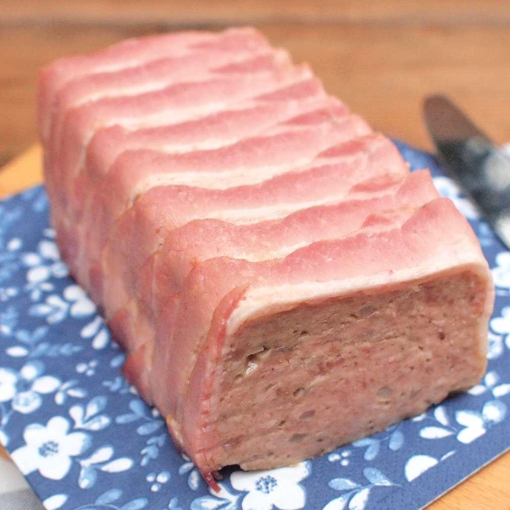 Zobrazit Vepřová paštika ve slanině receptů