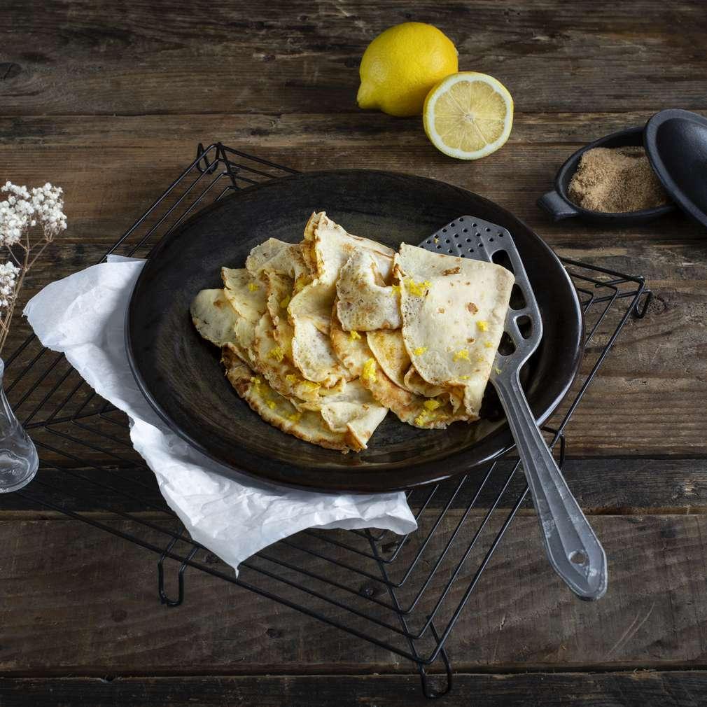 Изобразяване на рецептата Лимонови палачинки