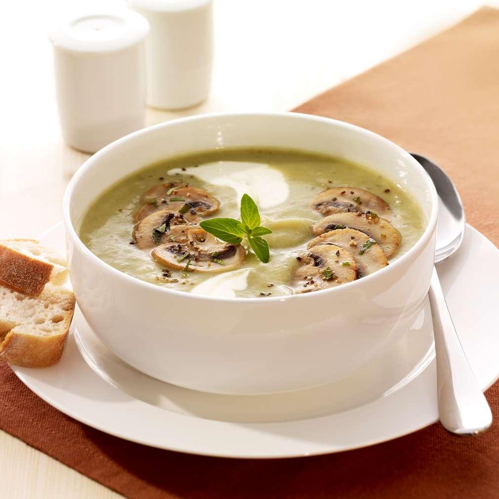 Abbildung des Rezepts Kartoffel-Champignon-Suppe