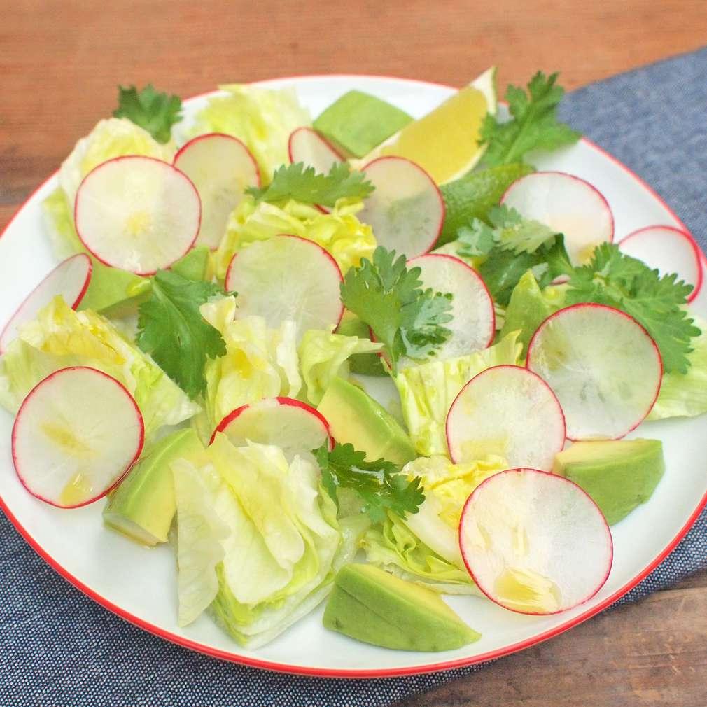 Zobrazit Ledový salát s avokádem receptů