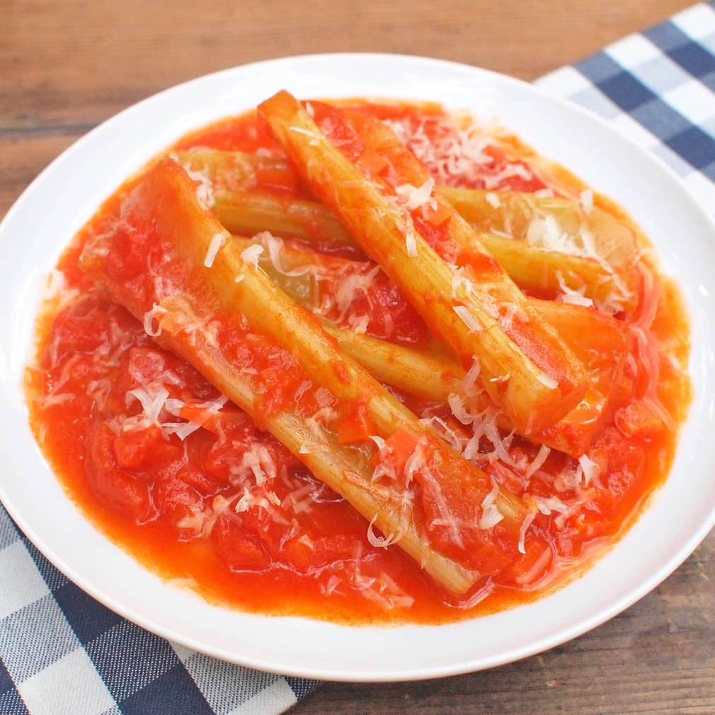 Zobrazit Dušený celer s parmazánem receptů