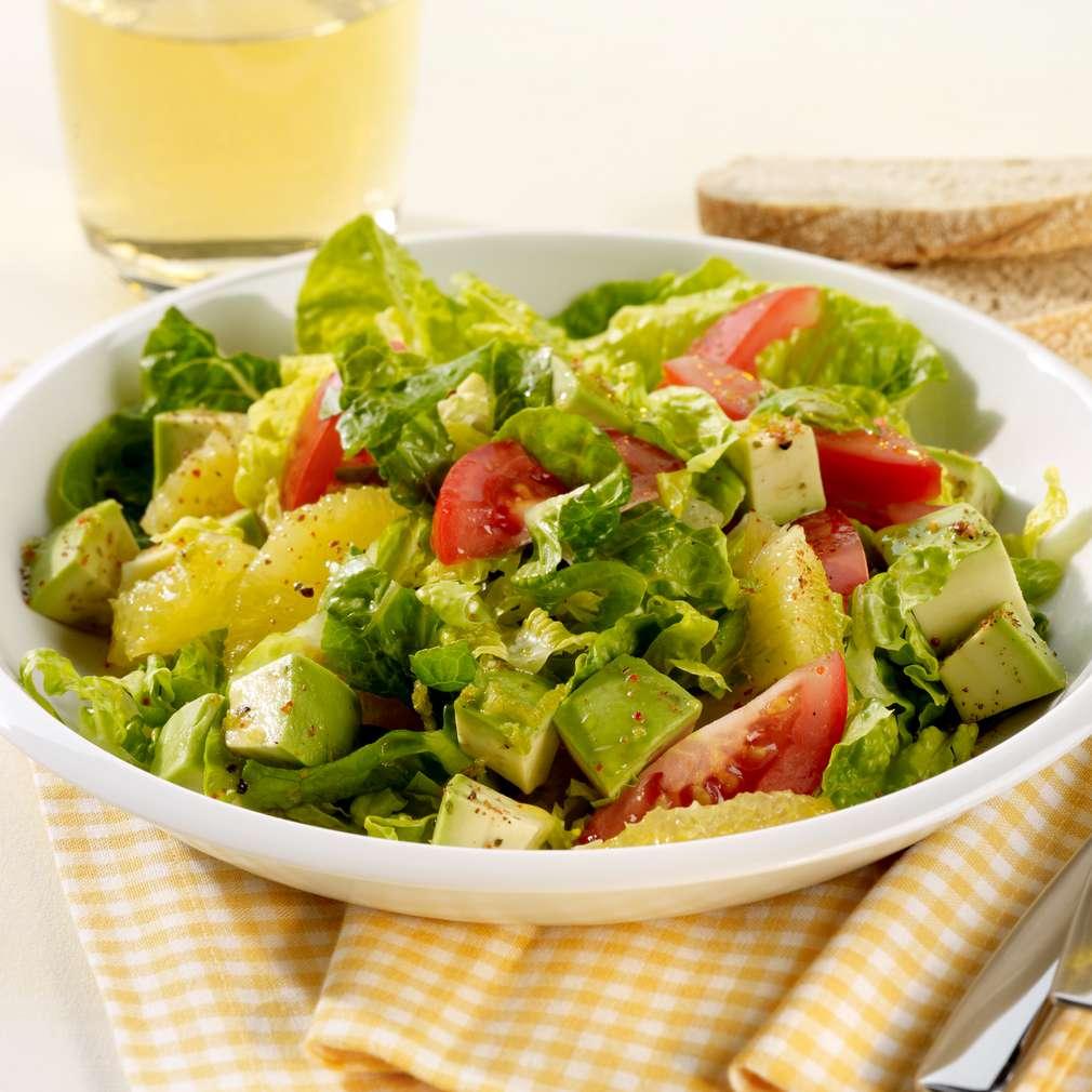 Zobrazit Salát s avokádem a pomeranči receptů