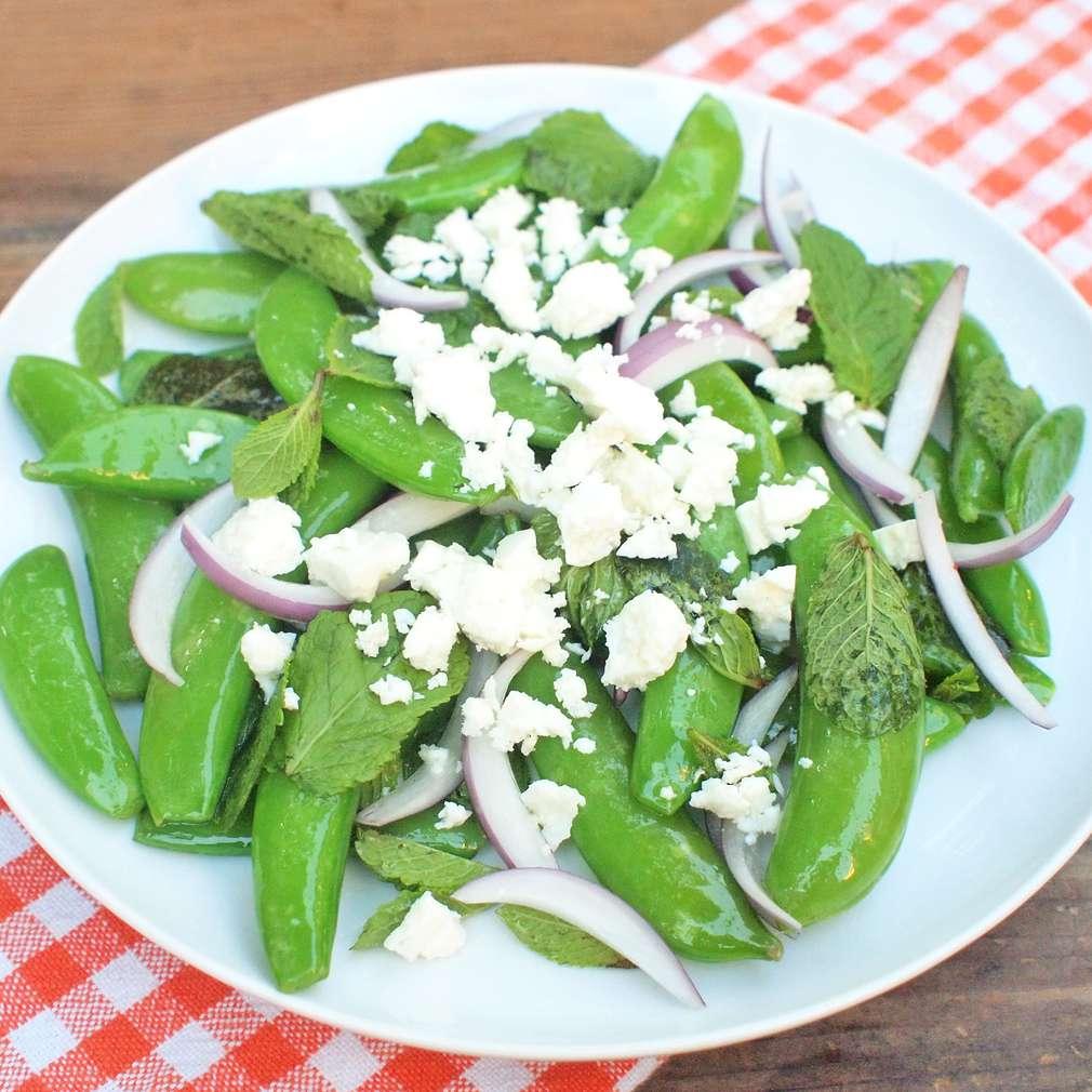 Zobrazit Salát z hráškových lusků receptů