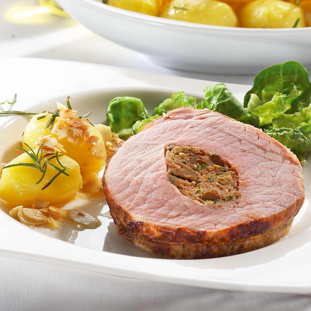 Abbildung des Rezepts Gourmet-Braten vom Schweinerücken
