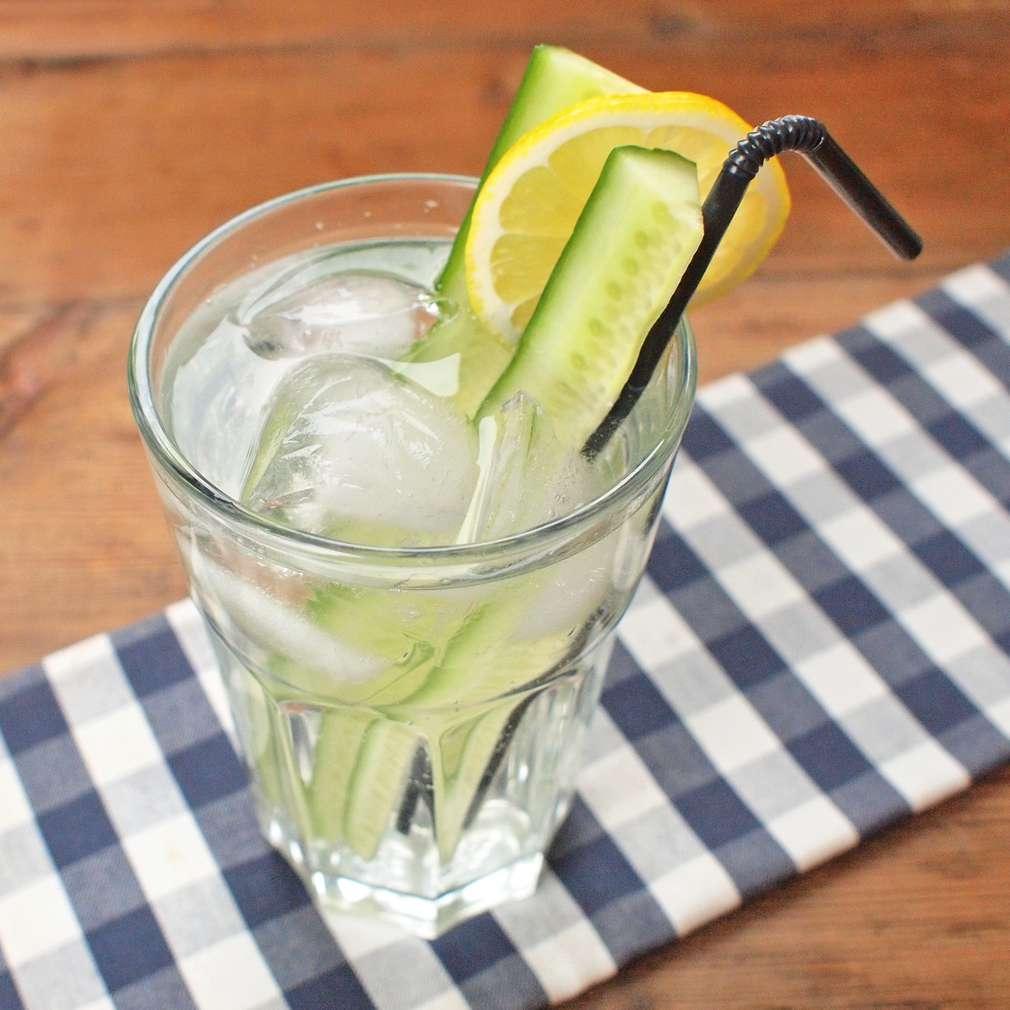 Zobrazit Okurkový gin tonic receptů