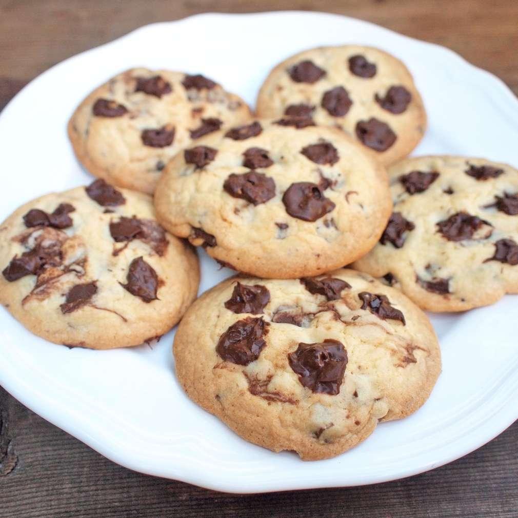 Zobrazit Cookies s čokoládou receptů