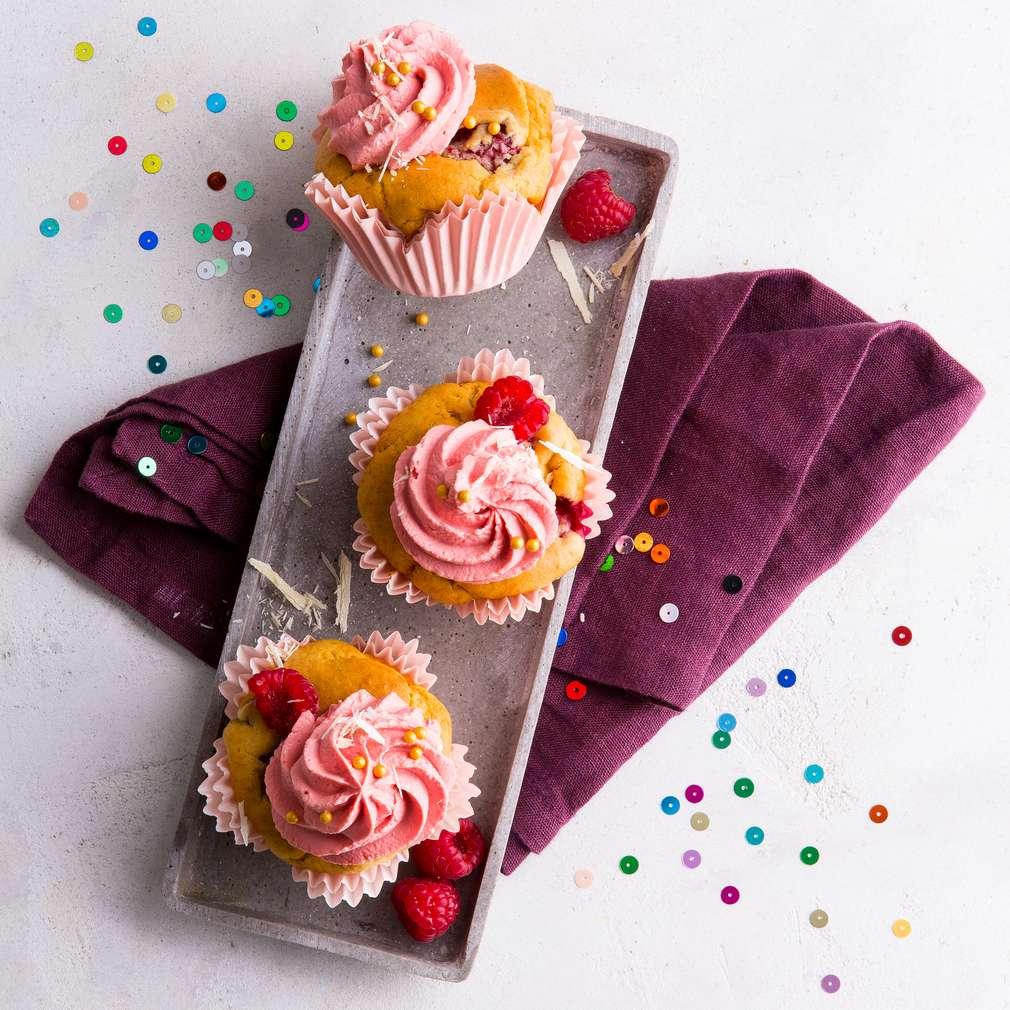 Zobrazit Cupcakes pro malé princezny receptů