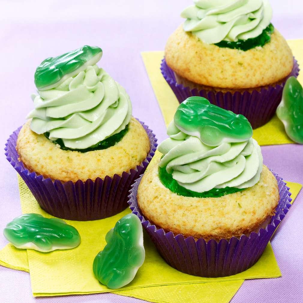 Abbildung des Rezepts Frosch-Cupcakes