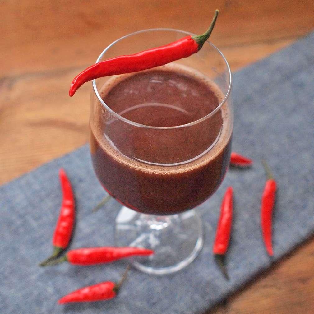Horká čokoláda s chilli