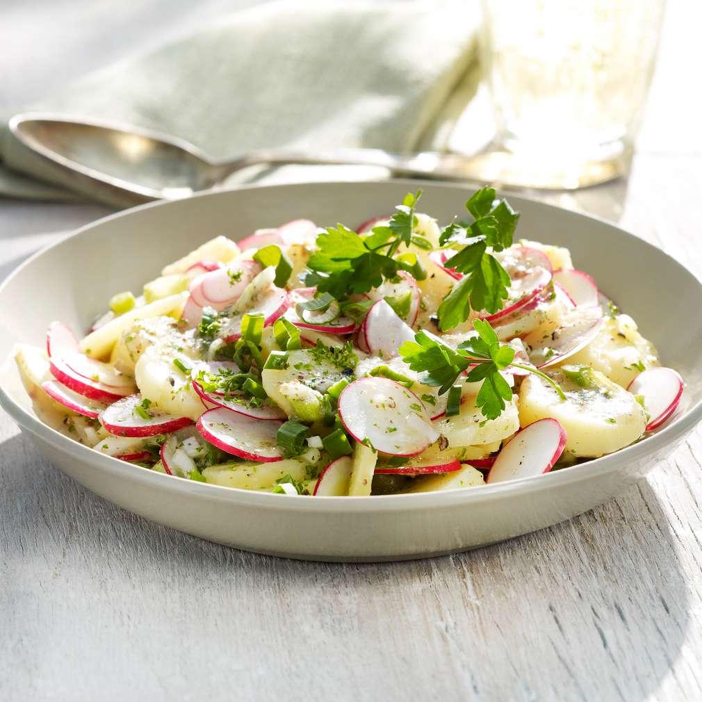 Salată bavareză de cartofi