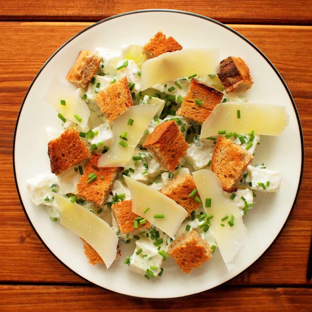 Zobrazit Krémový salát z kedlubny receptů