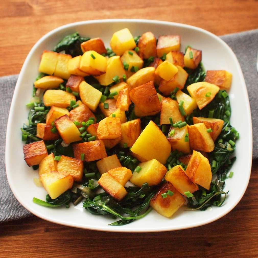 Zobrazit Jarní pečené brambory receptů