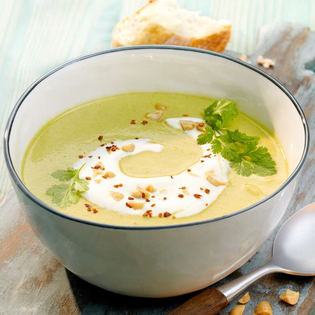 Abbildung des Rezepts Sopa de Mani – Erdnusssuppe