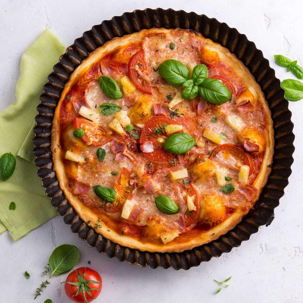 Abbildung des Rezepts Pizza Hawaii