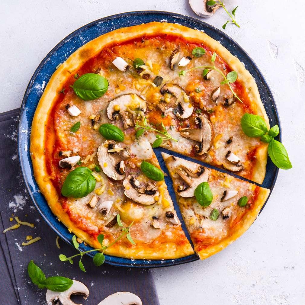 Abbildung des Rezepts Pizza Funghi