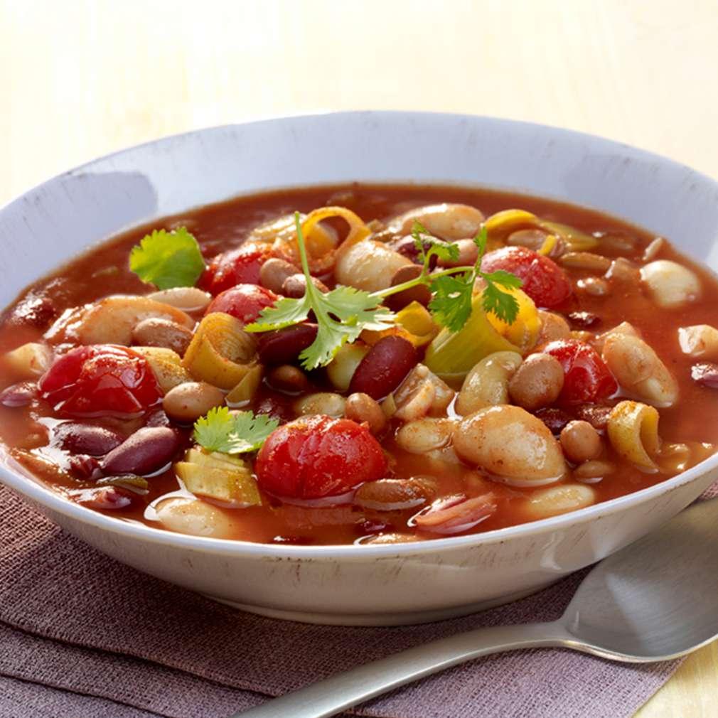 Mexický eintopf s fazolemi