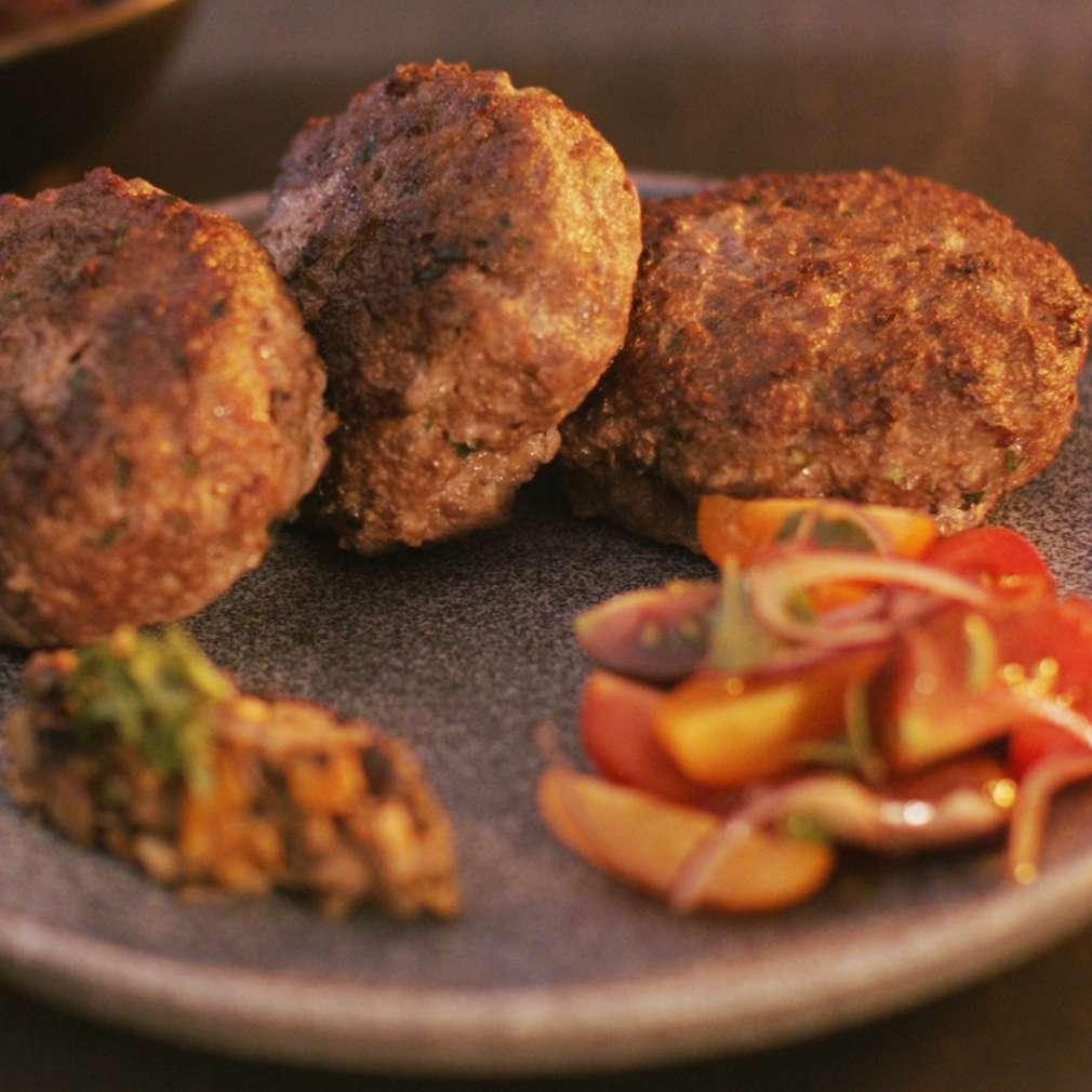 Изобразяване на рецептата Кюфтета от мляно телешко месо