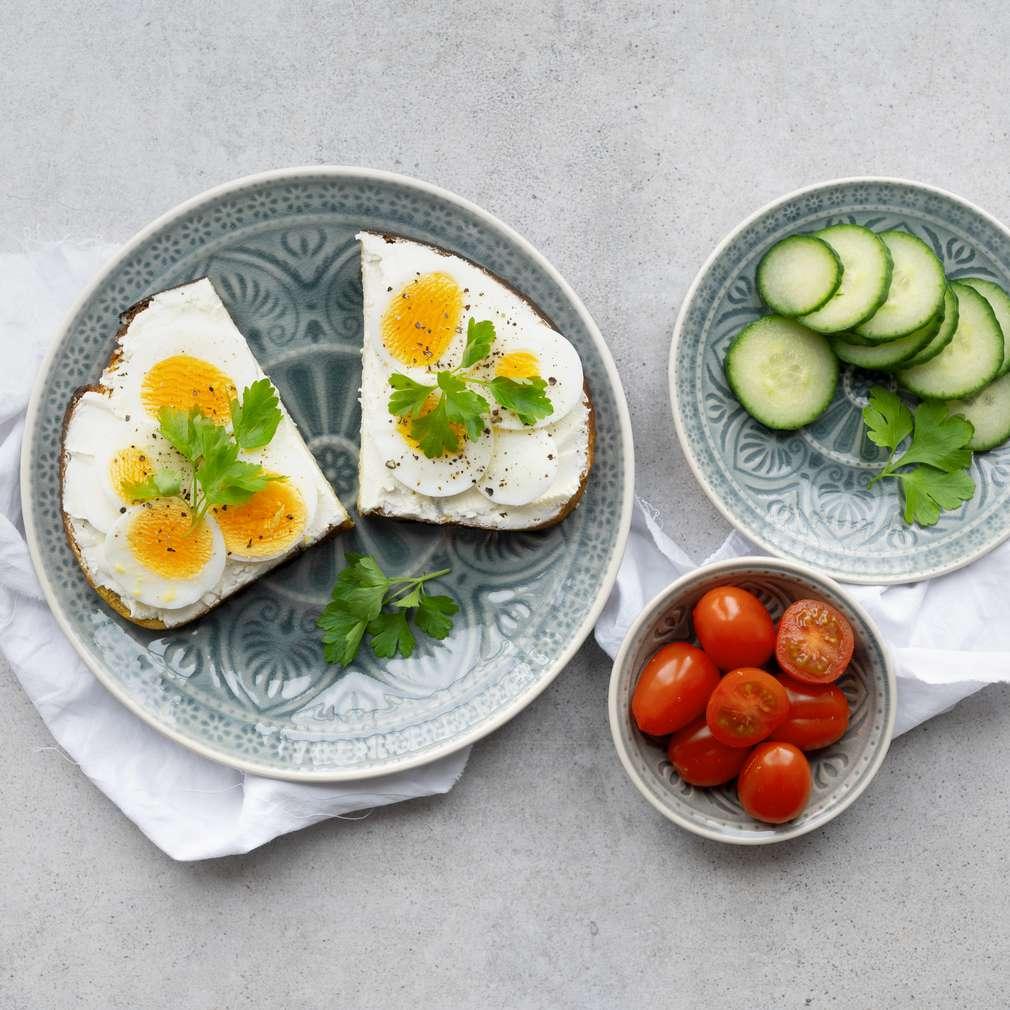 Zobrazit Dýňový chléb s lučinou a vejci receptů