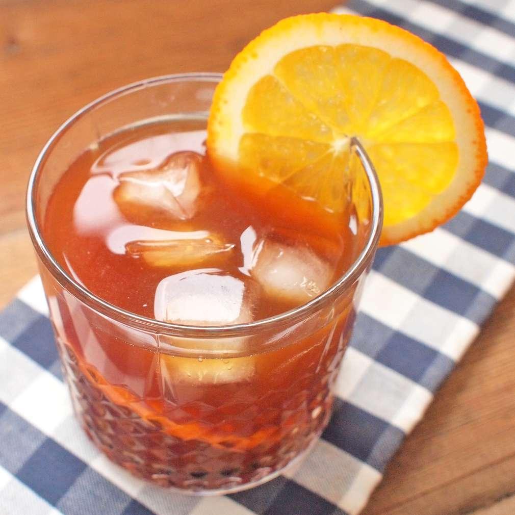 Zobrazit Pomerančová ledová káva receptů