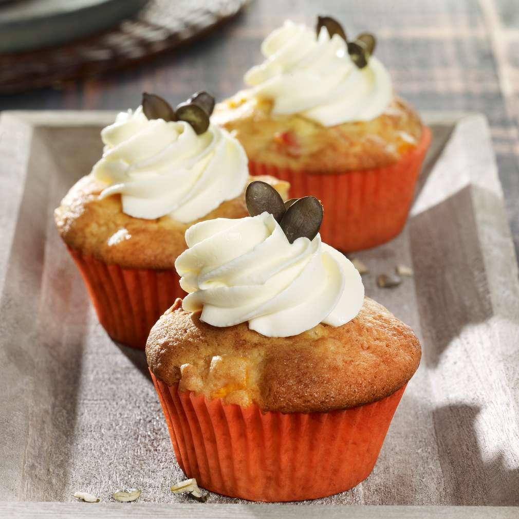 Abbildung des Rezepts Kürbis-Cupcakes