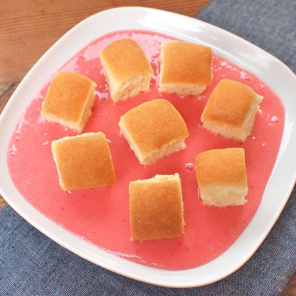 Zobrazit Buchtičky s jahodovou omáčkou receptů