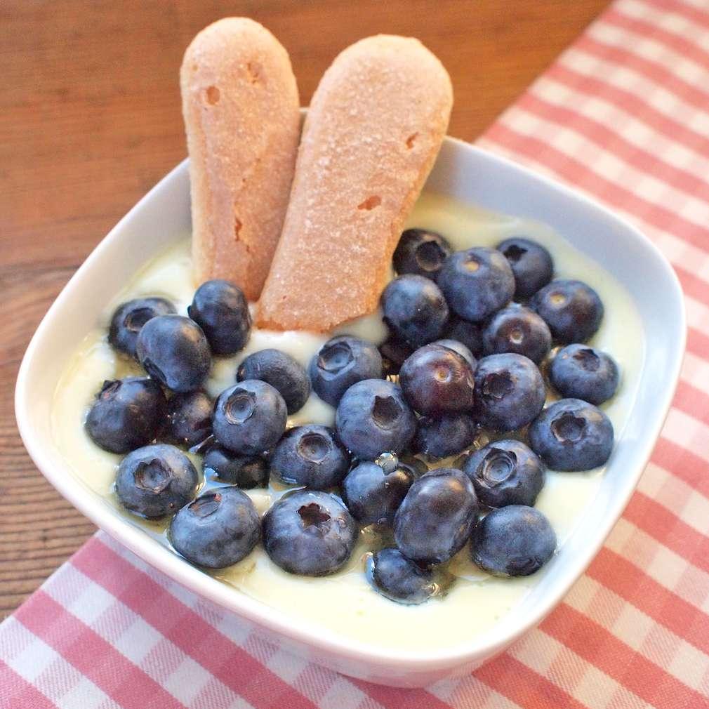 Zobrazit Pudingová miska s borůvkami receptů