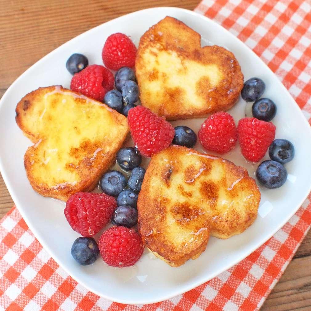 Zobrazit Francouzské toasty od srdce receptů