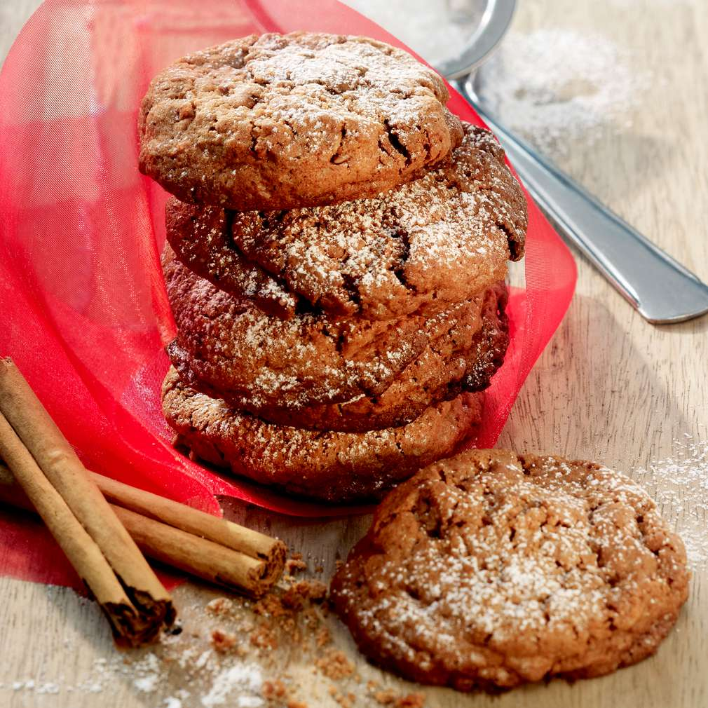 Abbildung des Rezepts Müsli-Zimt-Cookies