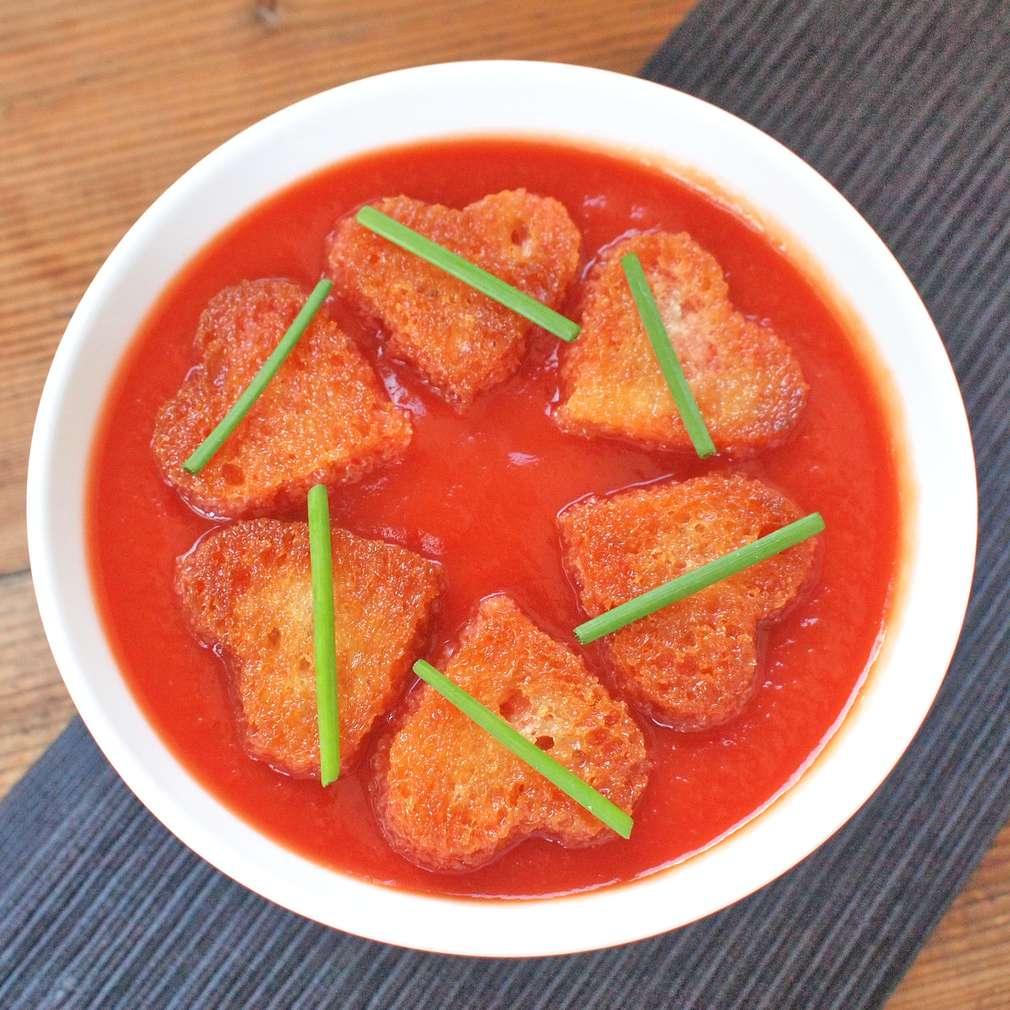 Zobrazit Zamilovaná rajská polévka receptů