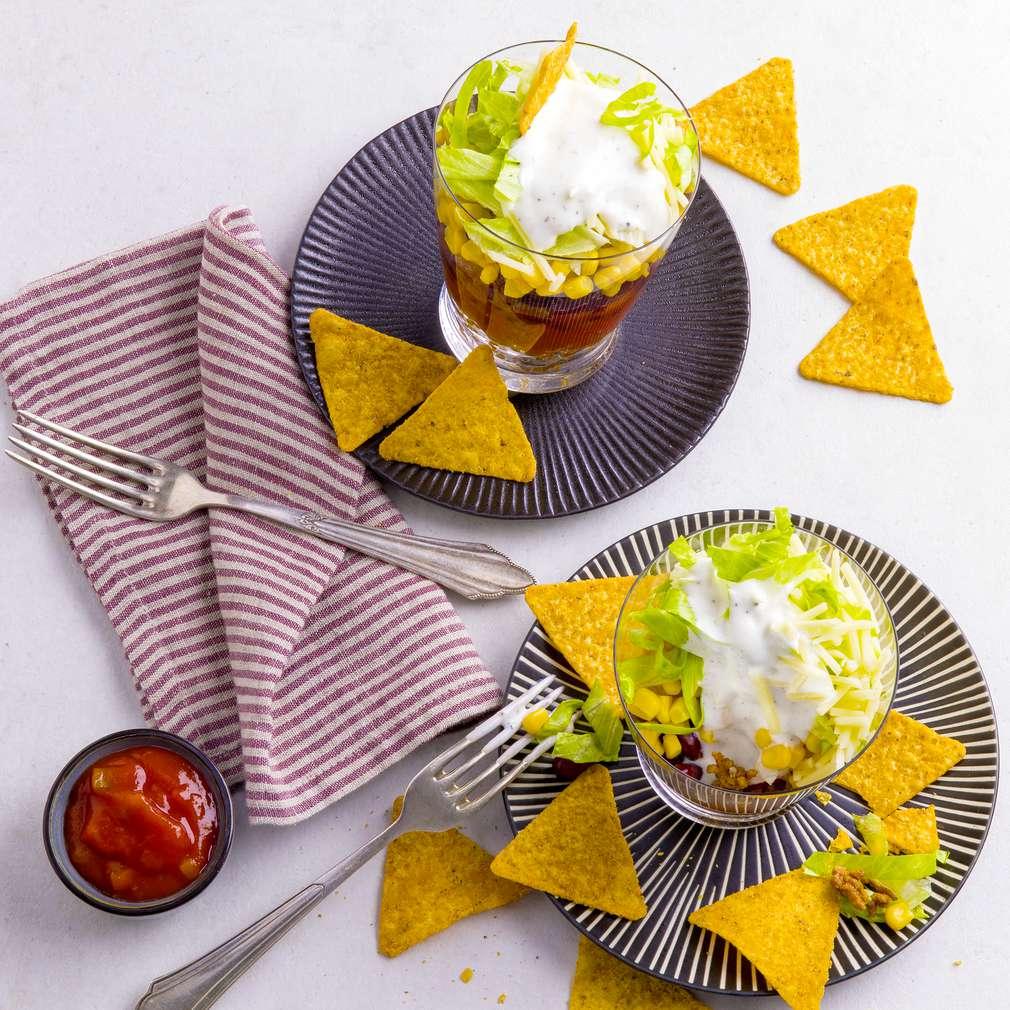 Fotografija recepta Meksička slojevita salata